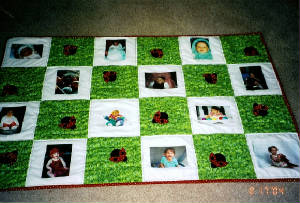 Baby Rooms by Nana Mary Seibolt, Cusomter Embroidery and Quilting